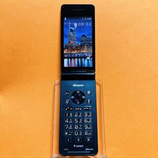 パナソニック(Panasonic)のSIMフリー P-01J ブラック 19 P-smart docomo ドコモ(携帯電話本体)