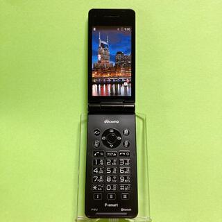 パナソニック(Panasonic)のSIMフリー P-01J ブラック 20 P-smart docomo ドコモ(携帯電話本体)