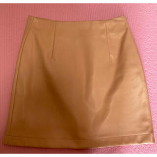 デュラス(DURAS)のレーザー風 ミニスカート フリーサイズ DURAS(ミニスカート)