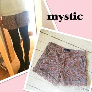 ミスティック(mystic)のmystic♡ツイードショートパンツ(ショートパンツ)