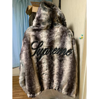 Supreme - 20AW Faux Fur Reversible Hooded Jacket