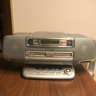 パナソニック(Panasonic)のPanasonic CD MD カセット デッキ RX-MDX81(ポータブルプレーヤー)