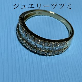 ジュエリーツツミ(JEWELRY TSUTSUMI)のツツミ 18Kダイヤモンドリング♪15号 ジュエリーツツミ✨(リング(指輪))