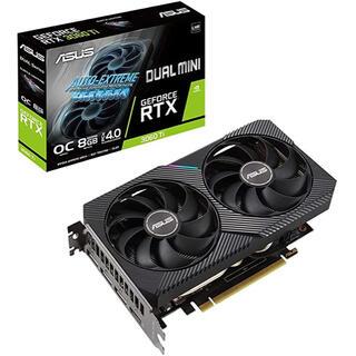 エイスース(ASUS)のASUS DUAL NVIDIA GeForce RTX 3060 Ti グラボ(PCパーツ)