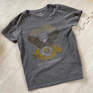 シップスフォーウィメン(SHIPS for women)のSHIPS シップス 半袖Tシャツ チャコールグレー(Tシャツ(半袖/袖なし))