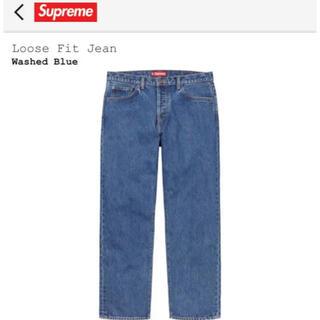 Supreme - シュプリーム  SUPREME loose fit jean 30 デニムパンツ