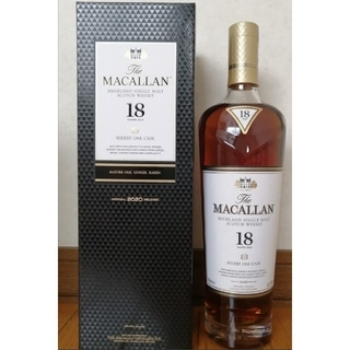 MACALLAN マッカラン18年 2020&2018 シェリーオークカスク(ウイスキー)