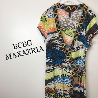 ビーシービージーマックスアズリア(BCBGMAXAZRIA)のBCBGマックスアズリア  ラップワンピース(ロングワンピース/マキシワンピース)