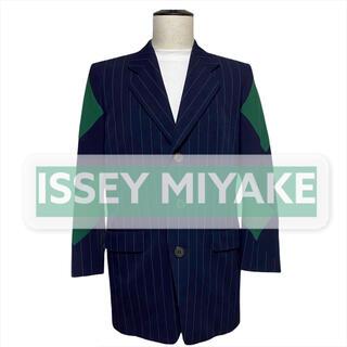 ISSEY MIYAKE - 【ISSEY MIYAKE】ジャケット ストライプ アーガイル archive