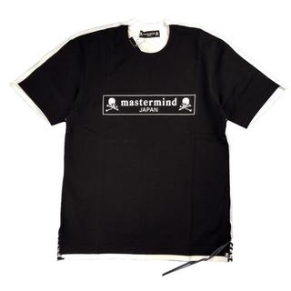 マスターマインドジャパン(mastermind JAPAN)のマスターマインドジャパン バイカラーレギュラーフィット天竺Tシャツ M(Tシャツ/カットソー(半袖/袖なし))
