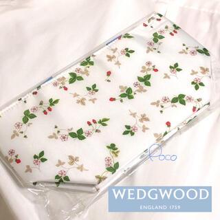 ウェッジウッド(WEDGWOOD)の非売品❗️WEDGWOOD ランチトート 苺 ストロベリー クーラーバッグ 日生(弁当用品)