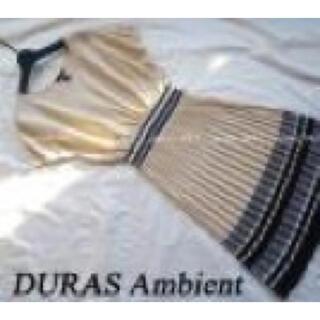 デュラスアンビエント(DURAS ambient)のDuras ambient ❤︎一枚でおしゃれワンピース(ひざ丈ワンピース)