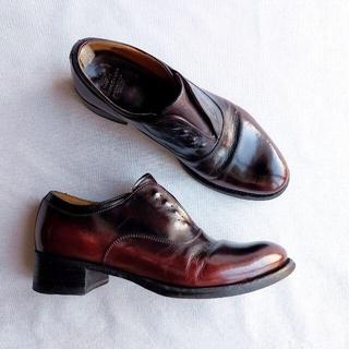 アパルトモンドゥーズィエムクラス(L'Appartement DEUXIEME CLASSE)のOFFICINE CREATIVE アンティーク加工 シューズ 38 24 短靴(ローファー/革靴)
