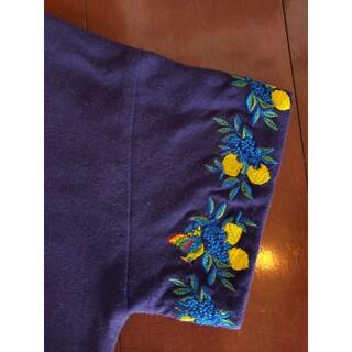 グラニフ(Design Tshirts Store graniph)のレモンと鳥の刺繍*カットソー(カットソー(半袖/袖なし))