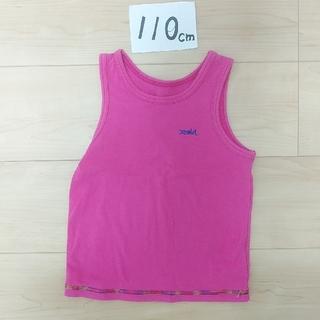 エックスガール(X-girl)のX-girl エックスガール タンクトップ ピンク 110(Tシャツ/カットソー)
