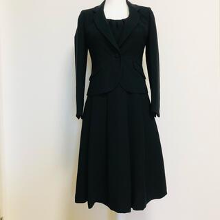 未使用品 ブラックフォーマル 7号 礼服 喪服 冠婚葬祭 セットアップ(礼服/喪服)