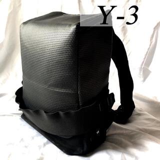 ワイスリー(Y-3)の大容量 Y-3 ワイスリー リュック バックパック ブラック バッグ ヨウジ(バッグパック/リュック)
