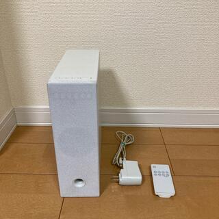ムジルシリョウヒン(MUJI (無印良品))の無印良品 ファイルボックス型スピーカー(スピーカー)