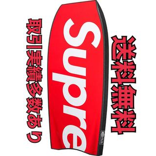 シュプリーム(Supreme)の新品未使用 Supreme Morey Mach 7 Bodyboard レッド(サーフィン)