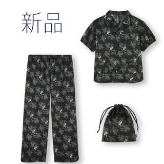 ジーユー(GU)の新品 GU アンダーカバー パジャマ  ディズニー サテン(パジャマ)