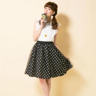 ドーリーガールバイアナスイ(DOLLY GIRL BY ANNA SUI)のドーリーガール ドットスカート(ひざ丈スカート)
