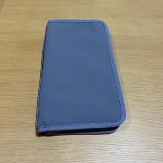 ムジルシリョウヒン(MUJI (無印良品))の無印良品/パスポートケース/グレー(ファイル/バインダー)