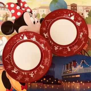 Disney - 【再販】ディズニーリゾート*プレート*パークフード柄 2枚セット