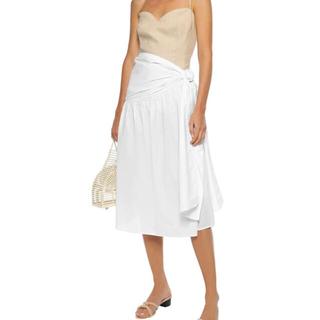 ロンハーマン(Ron Herman)の新品マーレットMerlette コットン 巻きベルトスカート♪(ひざ丈スカート)