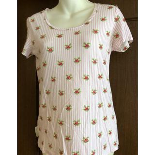ローラアシュレイ(LAURA ASHLEY)のLAURA ASHLEY×ユニクロコラボUTカットソー(used品)(Tシャツ(半袖/袖なし))