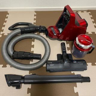 トウシバ(東芝)のTOSHIBA サイクロンクリーナー トルネオミニ 掃除機 VC-C6(R)(掃除機)