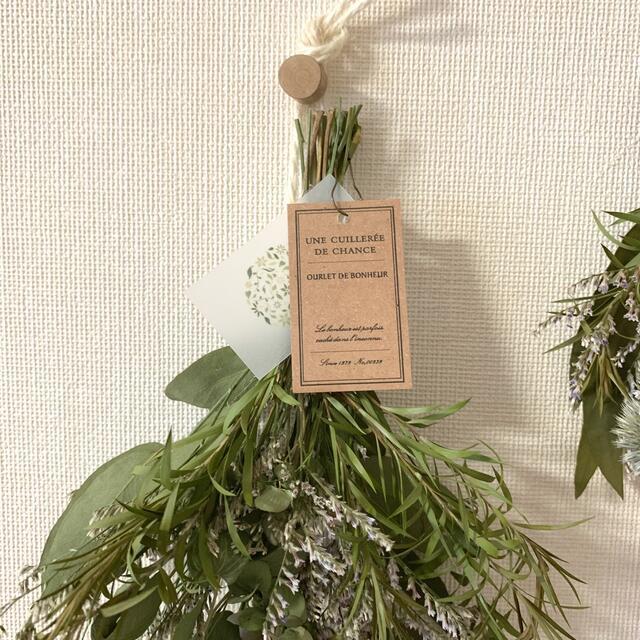 【sanko様専用】135  ドライフラワー ミモザ一点のみ タグ付き ハンドメイドのフラワー/ガーデン(ドライフラワー)の商品写真