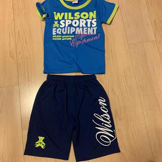 wilson - ウィルソン 男児 Tシャツ ハーフパンツ セット