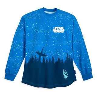 ディズニー(Disney)のスピリットジャージー スターウォーズ  エンドア イウォーク XSサイズ ブルー(Tシャツ/カットソー(七分/長袖))