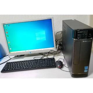 レノボ(Lenovo)のLenovo デスクトップPC Windows10 エクセル ワード(デスクトップ型PC)