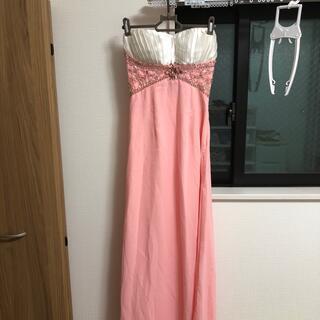 ジュエルズ(JEWELS)のロングドレス♡フリーサイズ定価9800円ビジュードレス(ロングドレス)