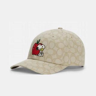 コーチ(COACH)のCOACH X PEANUTS スヌーピー コーチ 帽子 コーチ キャップ (キャップ)