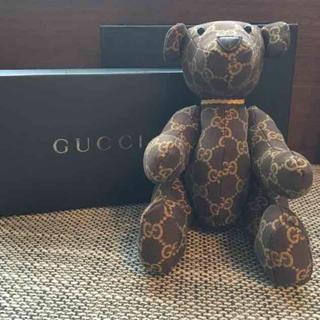 グッチ(Gucci)のGUCCI グッチテディベア GGキャンバス(ぬいぐるみ)