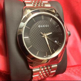 Gucci - 【最終値下げ】GUCCI グッチ タイムレス クオーツ 腕時計 ステンレス