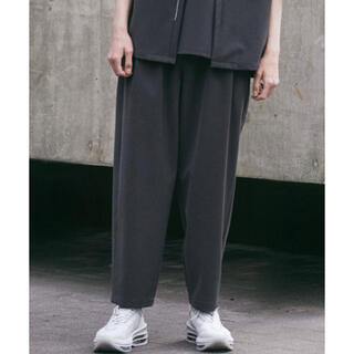 【ATTACHMENT × WYM】LOOSE TAPERED PANTS