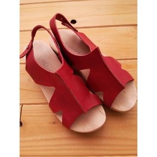 トリッペン(trippen)のトリッペン trippen ウッドソール サンダル 37 木靴 24㎝ 革(サンダル)