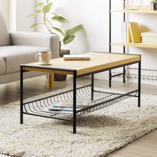 センターテーブル オークナチュラル色 ローテーブル/リビング/640(ローテーブル)