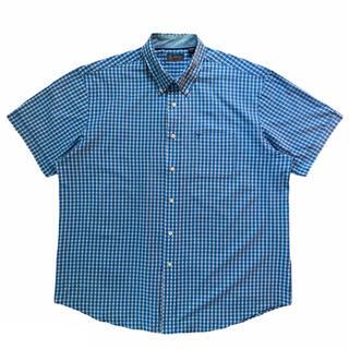 アロー(ARROW)の90s ARROW チェック柄 半袖 シャツ 古着 ビンテージ US古着 美品(シャツ)