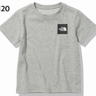 ザノースフェイス(THE NORTH FACE)のノースフェイス ジュニア ショートスリーブスモールスクエアロゴティー 120cm(Tシャツ/カットソー)