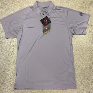 マムート(Mammut)の新品 定価9350円 レディースXXL 半袖ジップシャツ MAMMUT(登山用品)