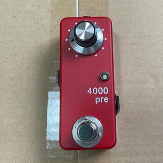 Zahnrad by nature sound 4000Pre Red(エフェクター)