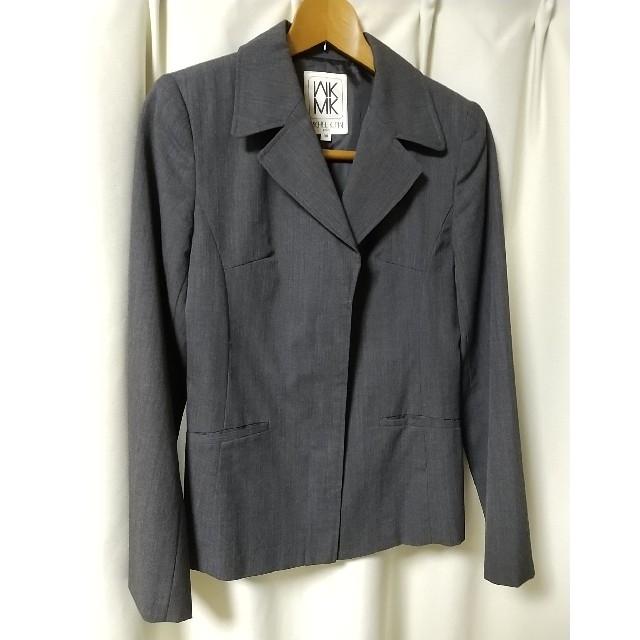 MICHEL KLEIN(ミッシェルクラン)のミッシェルクラン パリス MICHEL KLEIN グレースーツ 上38 下36 レディースのフォーマル/ドレス(スーツ)の商品写真