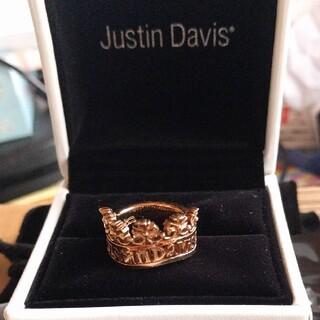ジャスティンデイビス(Justin Davis)のJustin Davis ■VICTORIA■美品リング(リング(指輪))