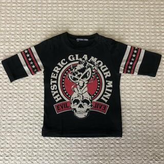 HYSTERIC MINI - ヒステリックミニ Tシャツ 7分袖 80