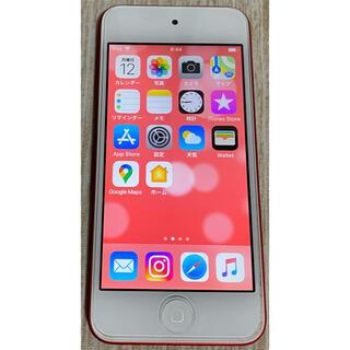 アイポッドタッチ(iPod touch)のiPod touch 6世代 32GB レッド(ポータブルプレーヤー)