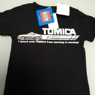 タカラトミー(Takara Tomy)のトミカ 半袖Tシャツ 90cm 新品タグ付き(Tシャツ/カットソー)
